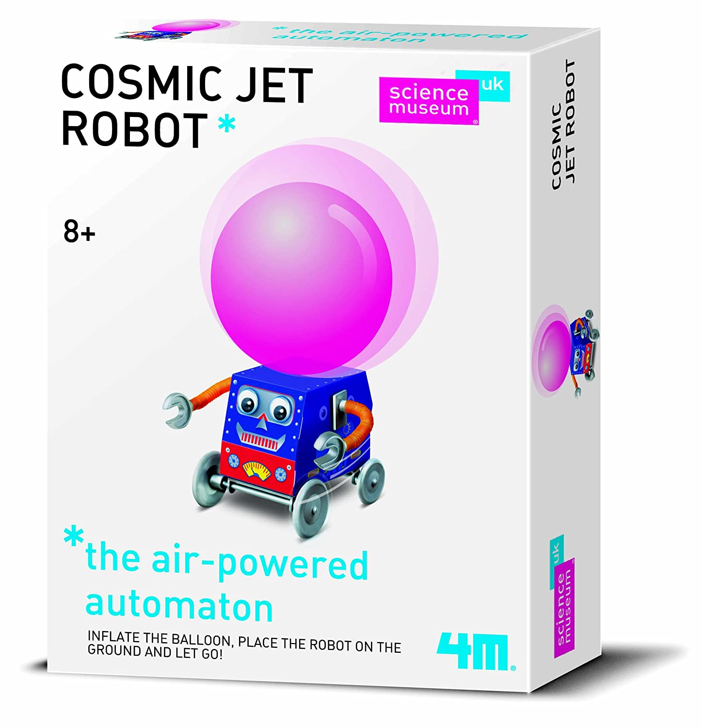 Good Value Build Your Own Experiment - Science Museum Cosmic Jet Robot - Great Gift Present Idea for Birthdays Christmas Xmas Stocking Fillers Top Ups Treats Rewards Pocket Money Easter Fun Toys & Games - Girl Girls Boy Boys Children Kids Child - One S
