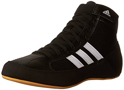 65a3cf32796c Adidas Wrestling HVC Youth Laced Wrestling Shoe (Toddler Little Kid Big Kid)