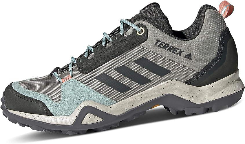 adidas Damen Terrex Ax3 Blue W Leichtathletik-Schuh, grau, 44 EU