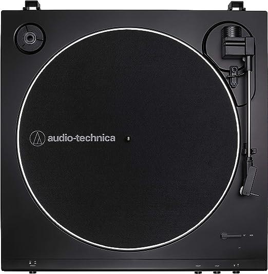 Amazon.com: Audio-Technica AT-LP60X-BK - Tocadiscos estéreo ...