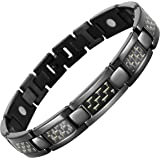 Carbon Fiber Titanium Magnetic Bracelet Size Adjusting Tool and Gift Box Included By Willis Judd