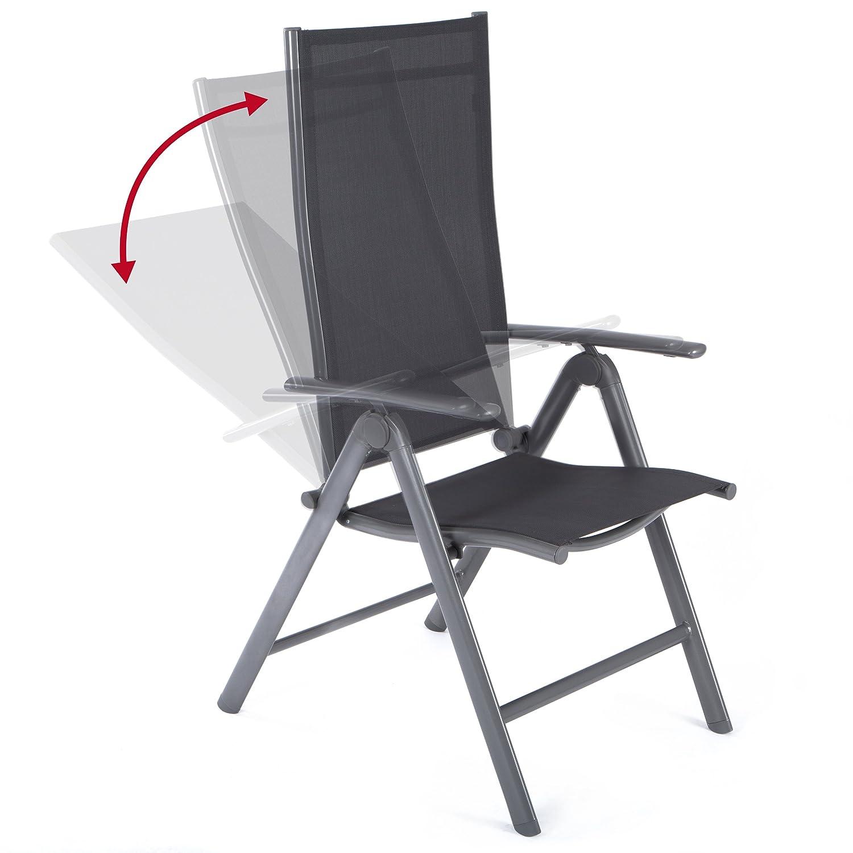 Ultranatura Aluminium Folding Chair Korfu Series Basic Amazon
