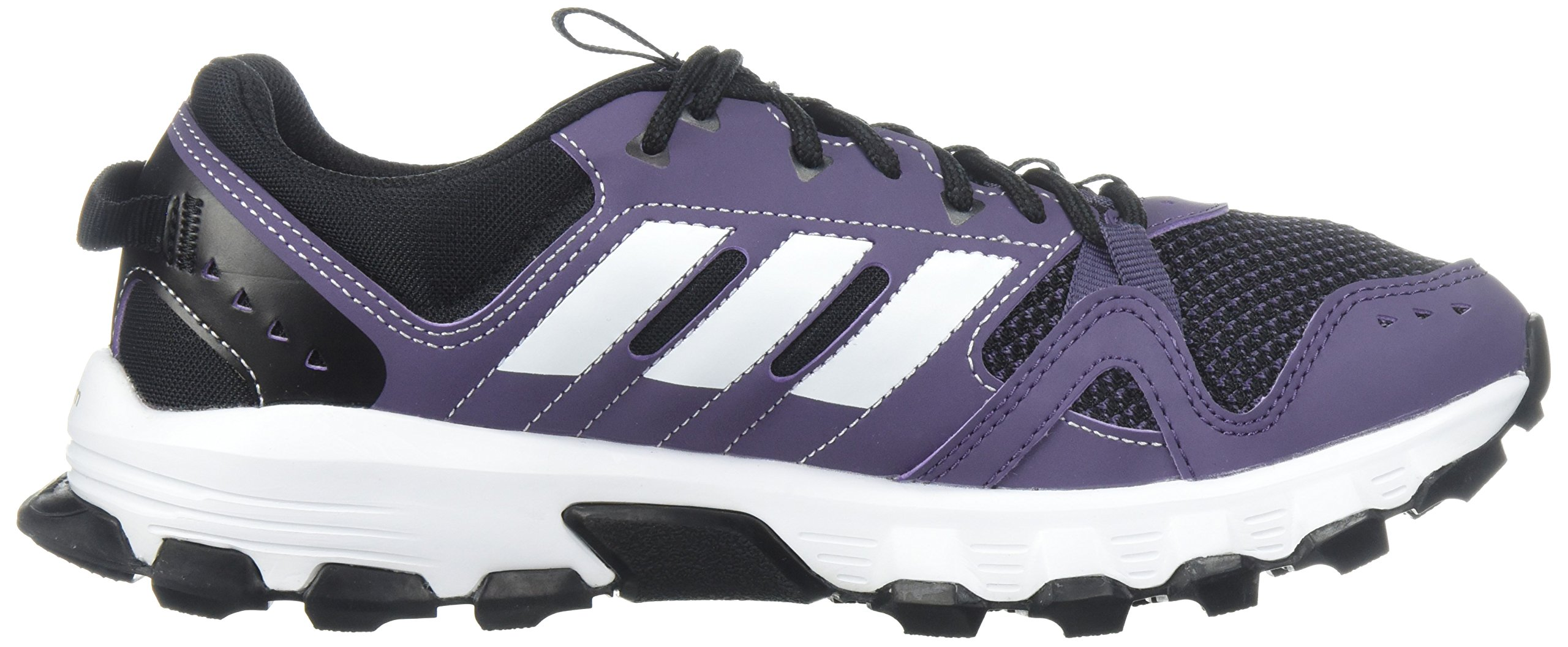 adidas Women's Rockadia w Trail Running Shoe, Trace Purple/White/Core Black, 7 M US by adidas (Image #7)