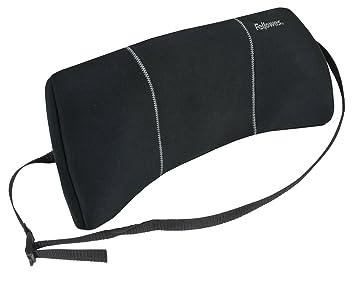 Amazoncom Fellowes Lumbar Back Support Black 9190701 Chair