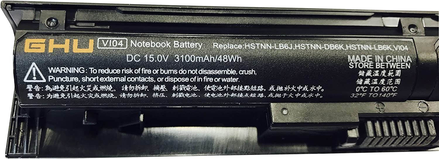 New GHU Battery 48wh VI04 756743-001 756745-001 756479-421 Compatible with HP Envy 14 15 17 Series hp probook 440 g2 445 g2 450 g2 455 g2 Battery HSTNN-DB6I 756744-001 HSTNN-PB6I 756743-001 V104
