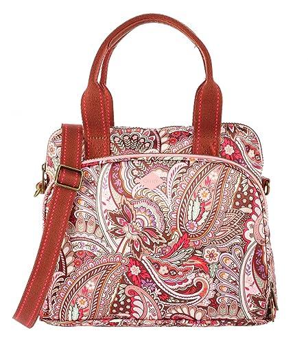 afcebf1a99654 Oilily Tasche - Eau de Fleurs - Handbag - Vintage Pink  Amazon.de ...
