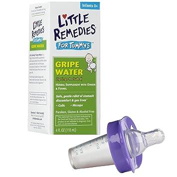 Amazon.com: Little Remedies tummys gripe Agua Con Chupete ...