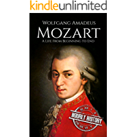 Mozart: A Life From Beginning to End (Composer Biographies Book 1) book cover