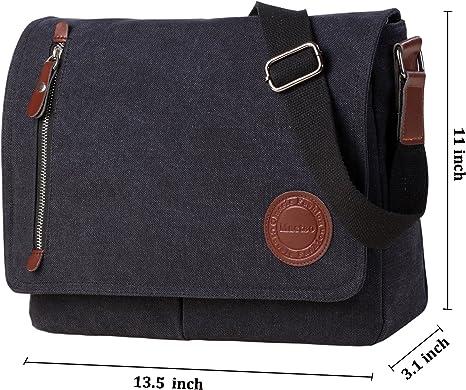 Men Canvas Crossbody Bag Casual Satchel Messenger Shoulder Vintage Bags BS