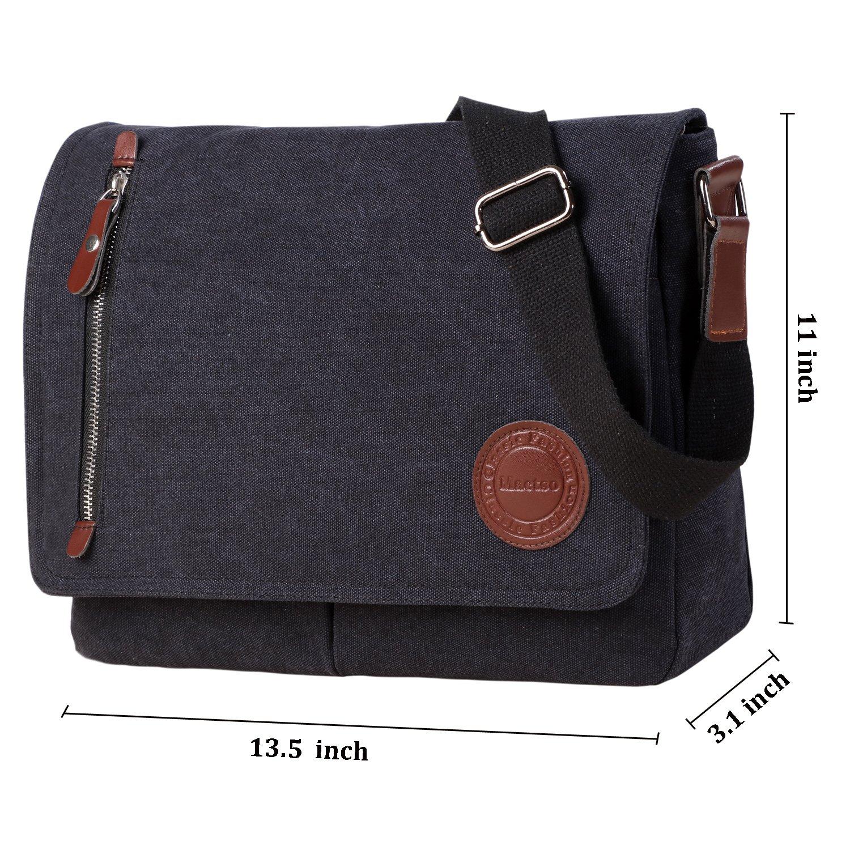 8af28a2198 Amazon.com  Vintage Canvas Satchel Messenger Bag for Men Women ...