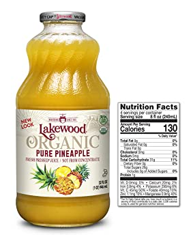 Lakewood Pure Pineapple Juice