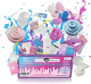 Original Stationery Unicorn Slime Kit for Kids