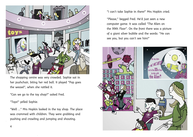 The Alien On The 99th Floor (collins Big Cat) (bk 1): Jenny Nimmo, Julian  Mosedale: 9780007231171: Amazon: Books