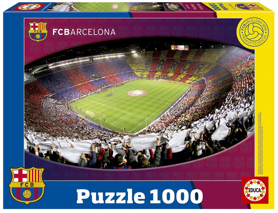 Promoción por tiempo limitado Educa Borrás 15477 - Puzzle 1000 piezas del Camp Nou, F.C. Barcelona