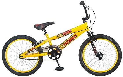 3610292e682 Amazon.com : Mongoose Boy's Strike Bicycle (Yellow) : Sports & Outdoors