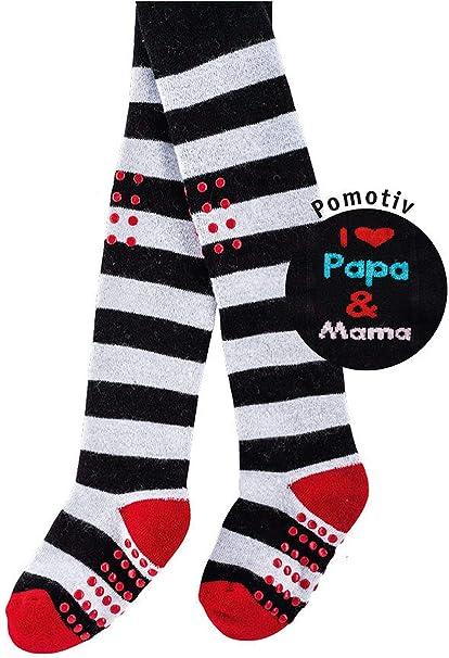 Calcetines Pur Gateo de Leotardos I love Papa & Mama 1 pieza: Amazon.es: Ropa y accesorios