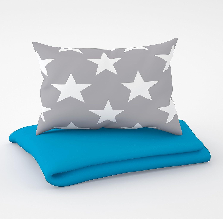 6 cuscini in velluto per il lettino 60 x 120 cm. Biancheria per lettino e paracolpi