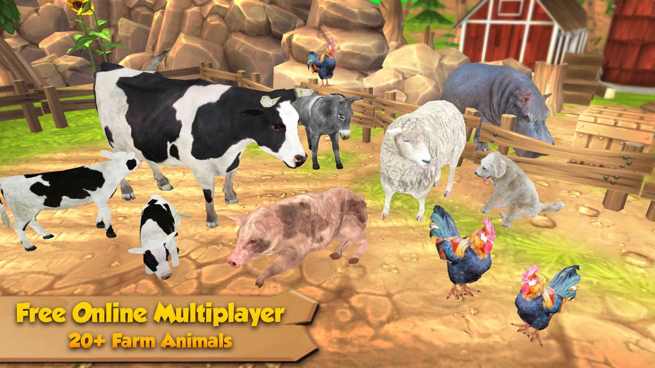Amazon Com Farm Animal Family Online Multiplayer