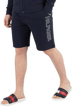 Tommy Hilfiger de los Hombres Pantalones Cortos de Sudor gráfico ...