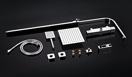 DP Grifería SD31006 Set de ducha con grifo termostático: Amazon.es ...