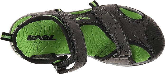 Teva Y Toachi 3 - Sandalias Deportivas de material sintético niños, color gris (dark grey/green), talla 32 EU: Amazon.es: Zapatos y complementos
