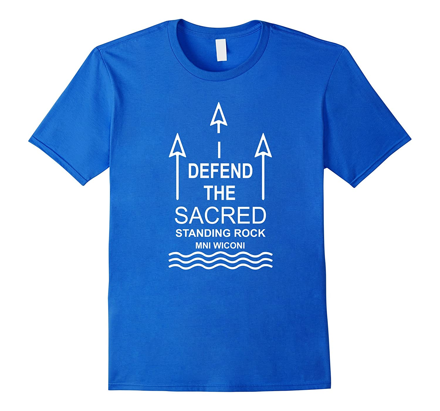 Defend The Sacred Shirt - Up To Us Shirt Mni Wiconi-CL