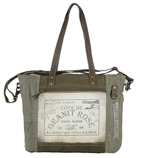 Bolso de compra señora Sunsa Vintage Bolso de hombro bolso de mano hecho de tela /. Pasa ...