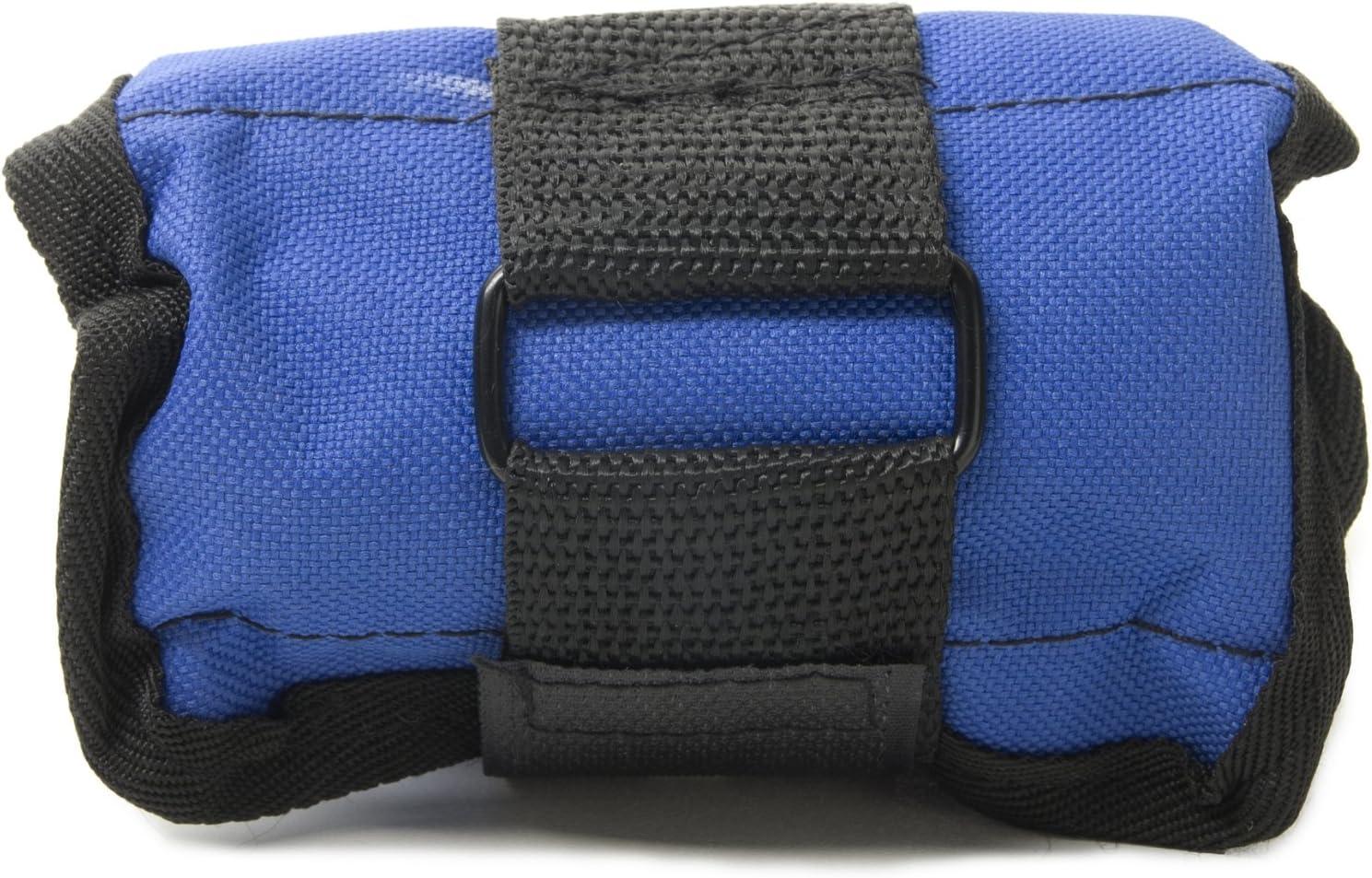 FA Sports Kepai Sandbag KL 2604 415 - Muñequeras con Peso (28 x 12 x 1 cm), Color Negro y Azul