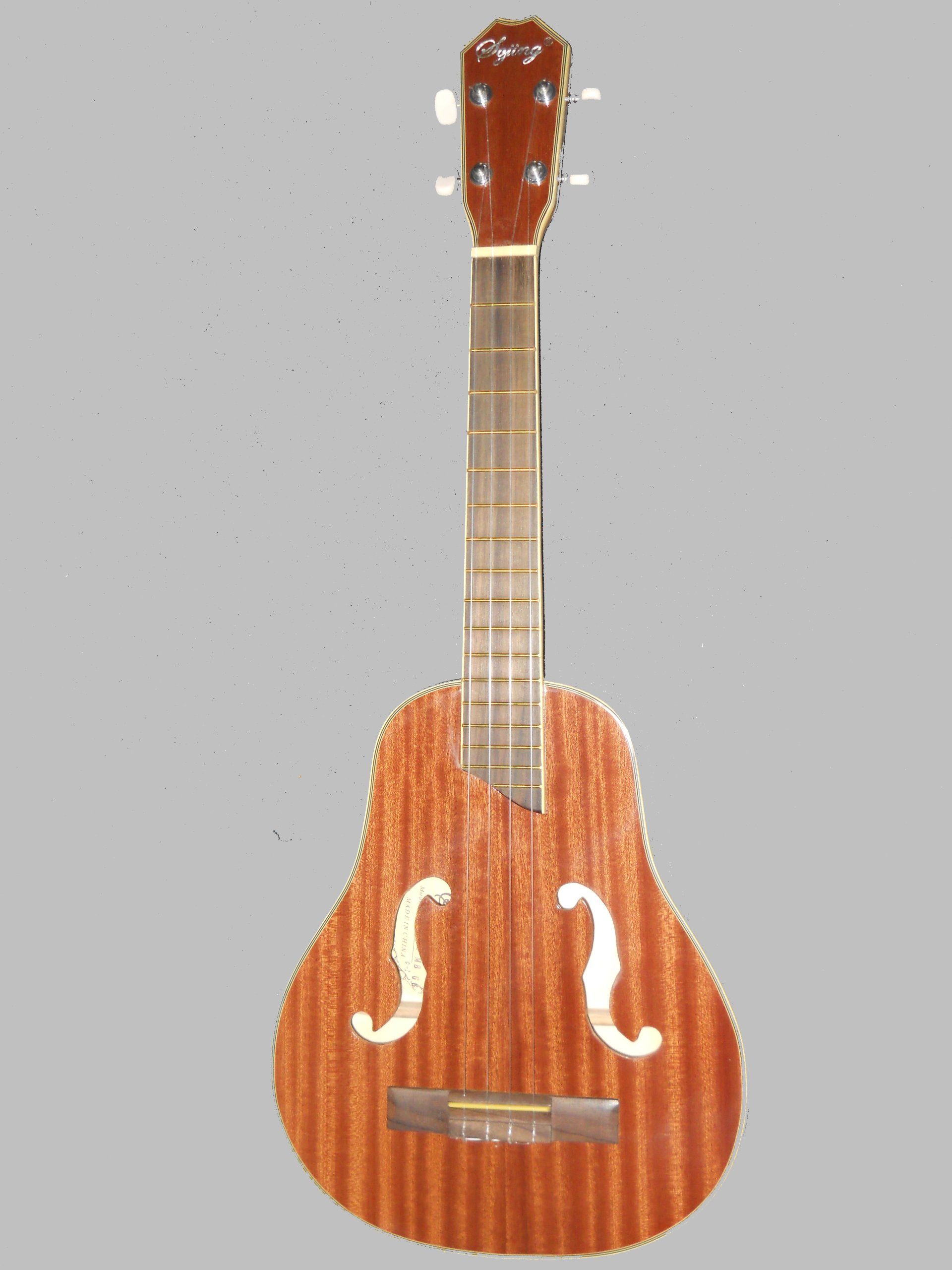F Sound Hole 28'' Baritone Ukulele(convertible to a Tenor Guitar) by Sojing (Image #1)