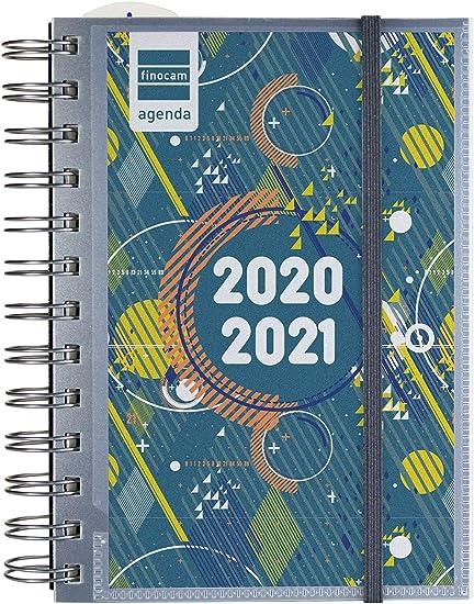 Oferta amazon: Finocam - Agenda Curso 2020-2021 para Secundaria Octavo, 120 x 169, 1 Día Página Mini Institut Personalizable, Catalán