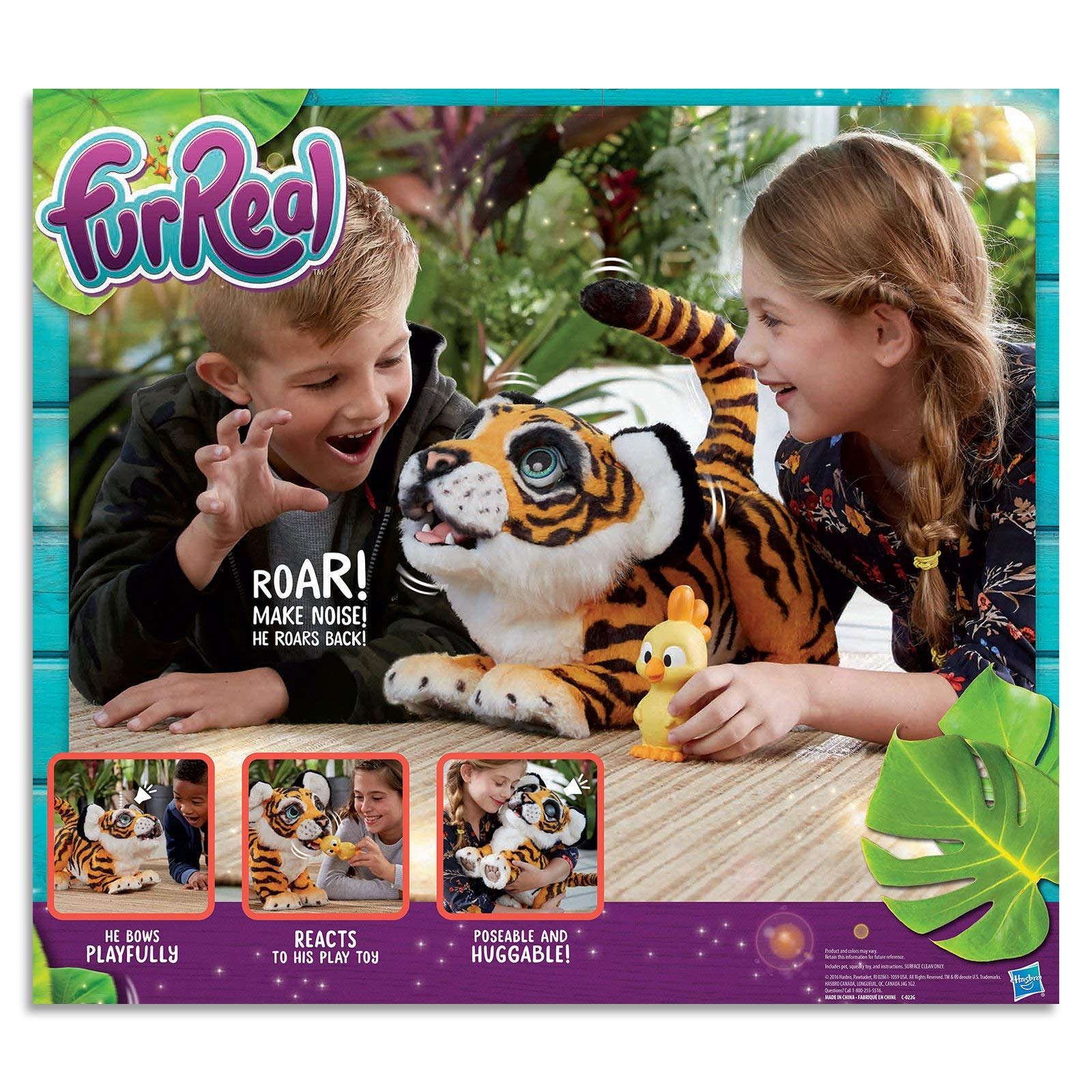 FurReal Roarin' Tyler, the Playful Tiger by FurReal (Image #7)