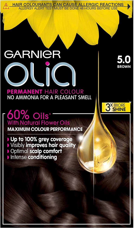 Garnier Olia - Tinte de coloración permanente para el pelo ...