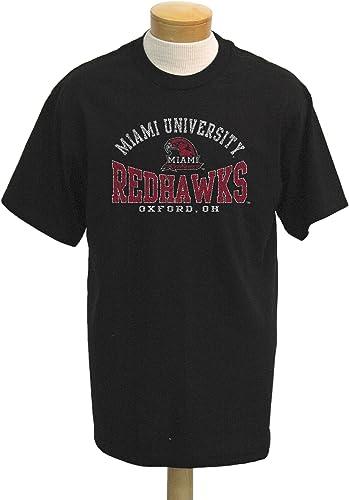 Ohio NCAA Miami Redhawks Saunders Short Sleeved T-Shirt