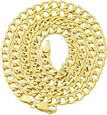 18 LoveBling 10K Yellow Gold 1.5mm Open Hollow Box Chain Necklace