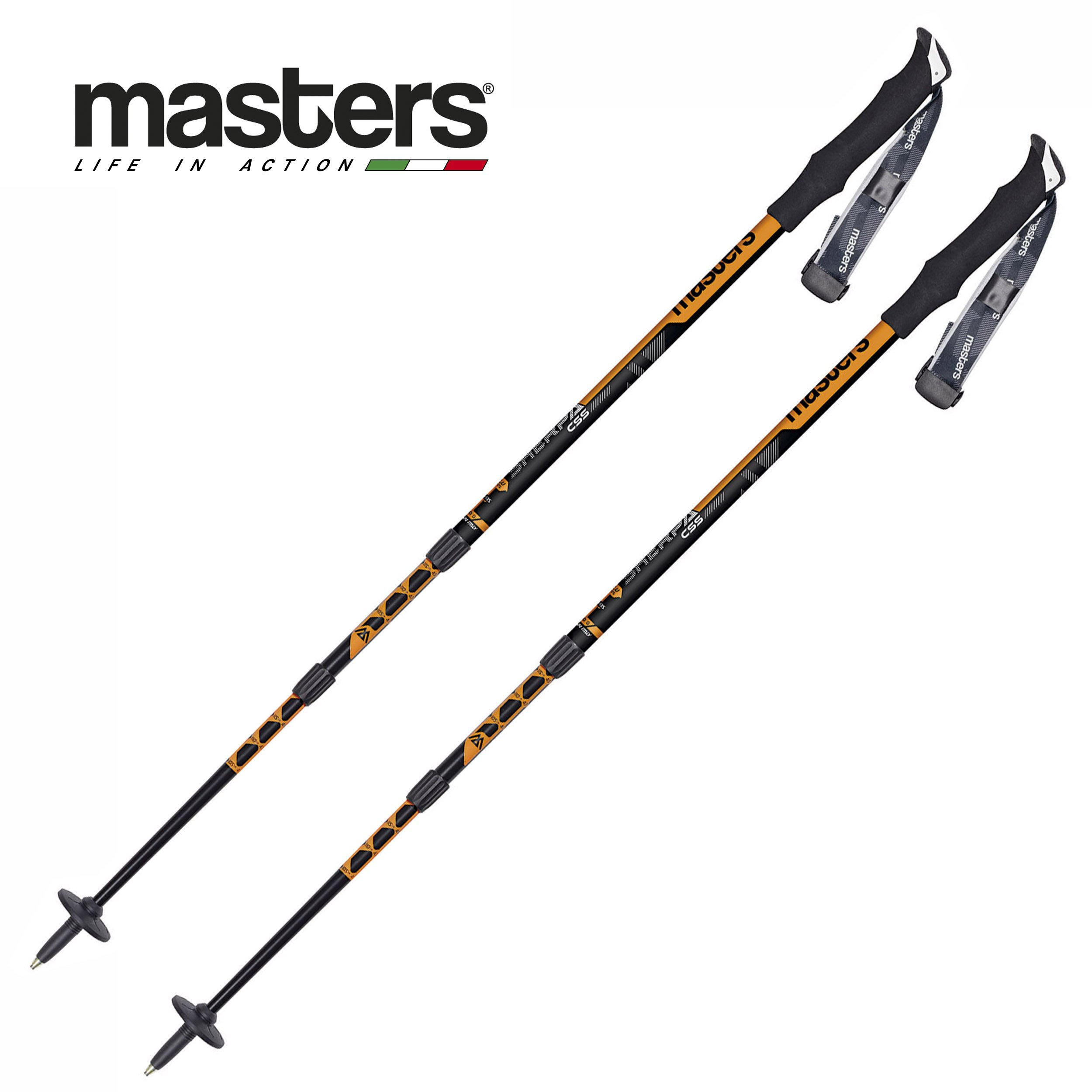 Masters Sherpa CSS Trekking Poles with Cushioning