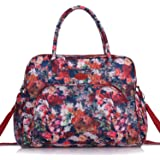 Lily & Drew Carry On Weekender Overnight Travel Shoulder Bag for 15.6 Inch Laptop Computers for Women