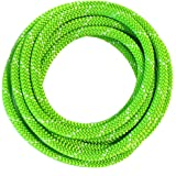 OmniProGear 8mm x 11ft Prusik Cord Lime Made IN USA MBS 16.44kN (3700lbs)