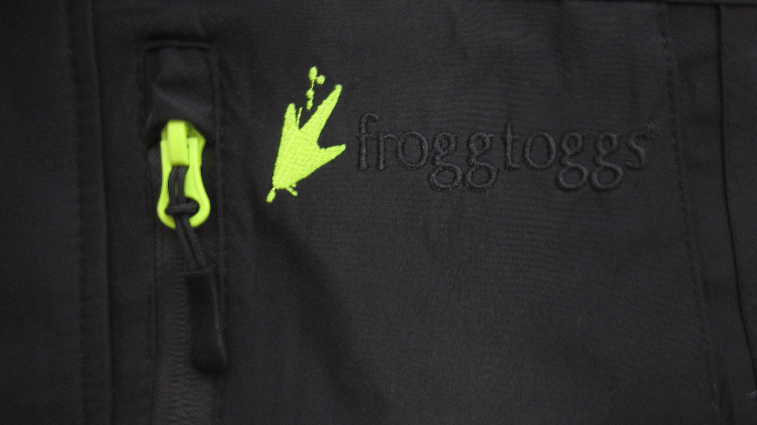Frogg Toggs ToadRage II Jacket, Black, Size XX-Large by Frogg Toggs