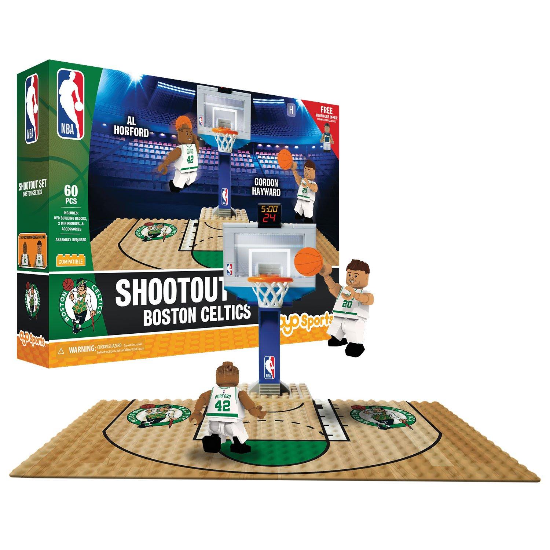 OYO NBA Boston Celtics Display Blocks Shootout Set, Small, No Color