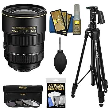 【クリックで詳細表示】Nikon 17???55?mm f / 2.8?G DX af-s ed-if Zoom - Nikkorレンズwith Pistol Grip Tripod + 3フィルタキットfor d3200、d3300、d5300, d5500、d7100、d7200デジタル一眼レフカメラ