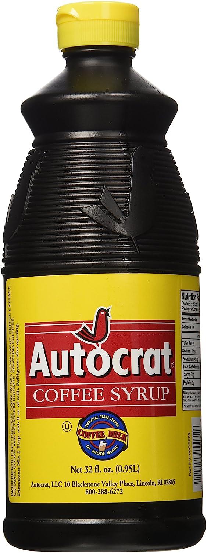 Autocrat Coffee Syrup 32 Oz