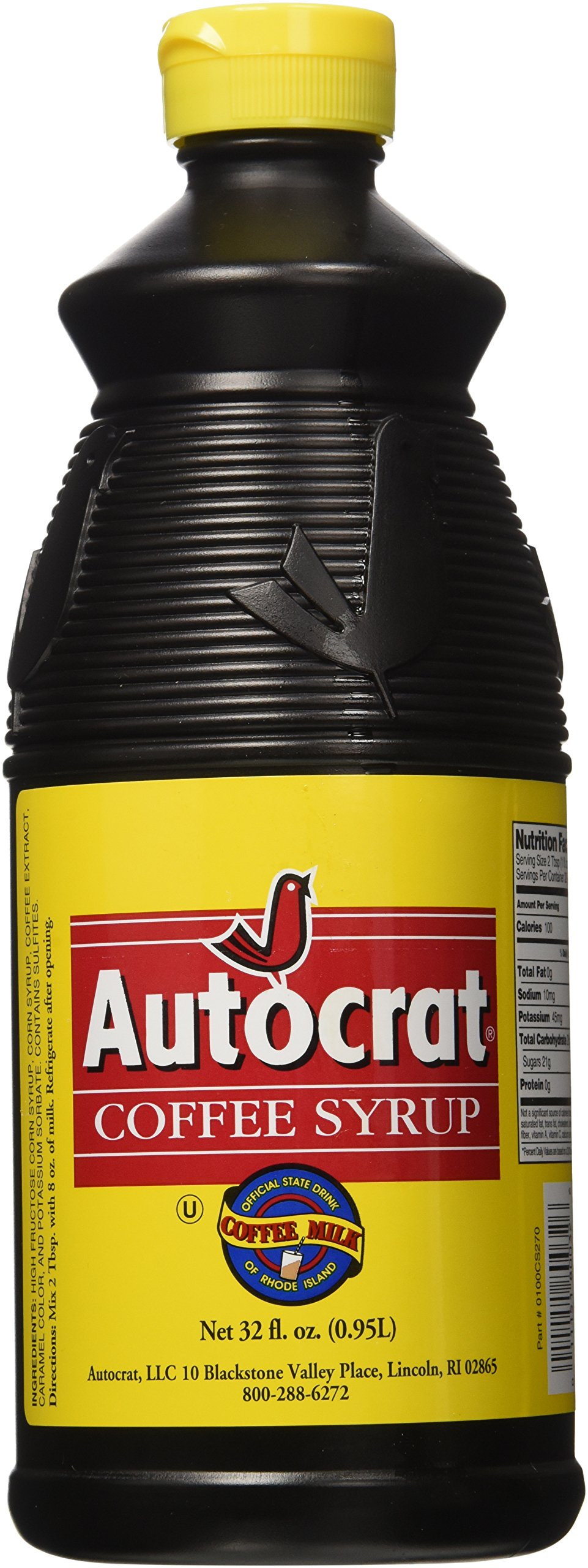 Autocrat Coffee Syrup Free Shipping