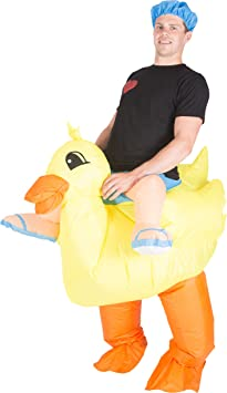 Bodysocks® Disfraz Hinchable de Pato Adulto: Amazon.es ...