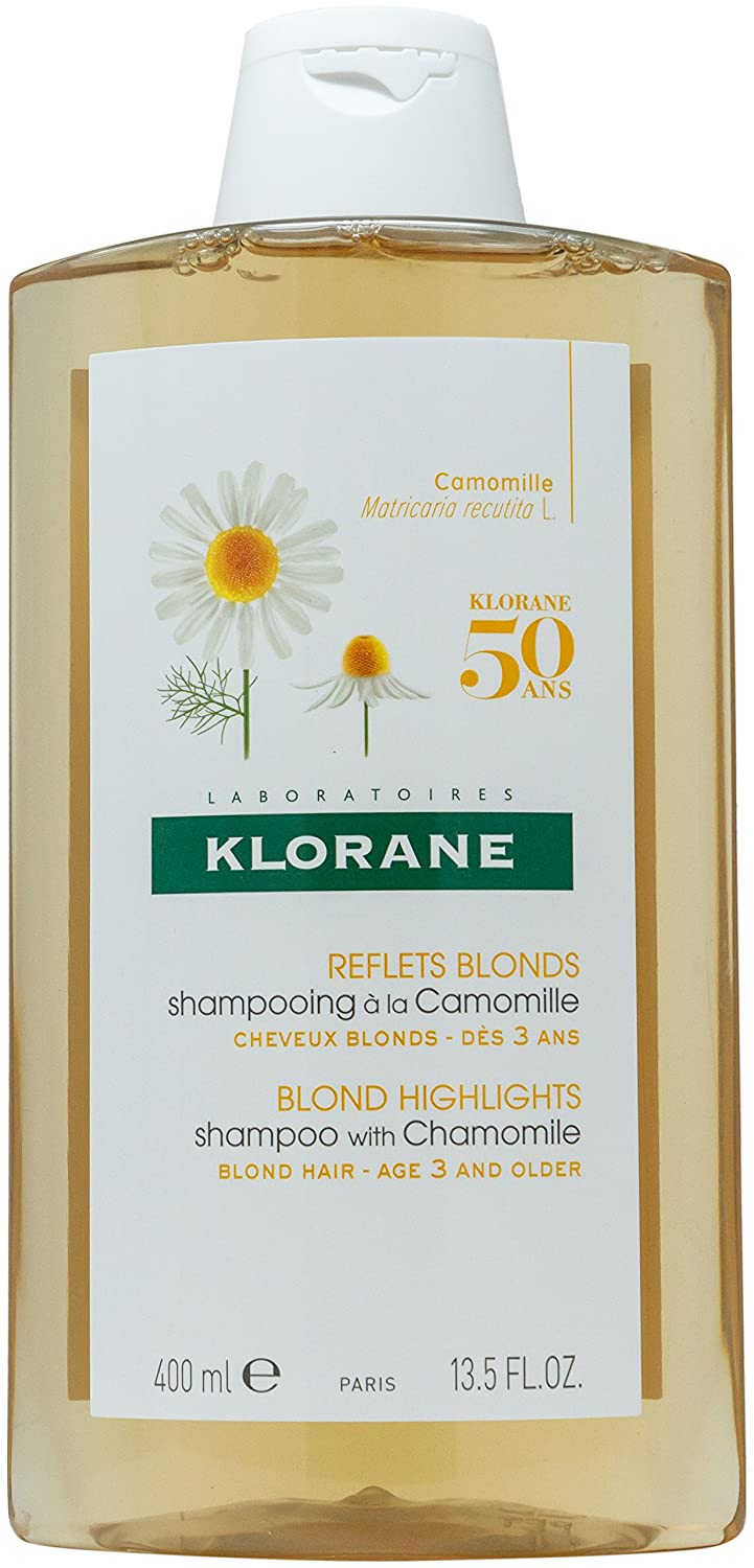 Klorane Blond Highlights Shampoo with Chamomile (400ml)