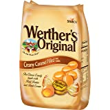 WERTHER'S ORIGINAL Creamy Caramel Filled Hard Candies, 30 Ounce Bag, Hard Candy, Bulk Candy, Individually Wrapped Candy Caram