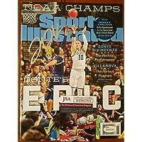$111 » Authentic Autographed Donte Divincenzo Villanova Autograph Sports Illustrated JSA Witness Bucks