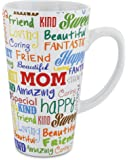 KOVOT Mom Mug - 16 Ounce Ceramic Coffee Mug (Mother Sentiments)