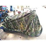 Modified Autos Motorcycle Waterproof Covers for Royal Enfield Signals Storm Rider, Universal Size Full Length