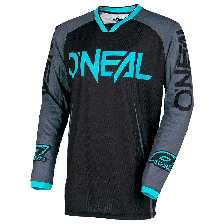 O'Neal Mayhem Lite Blocker Motocross Jersey Trikot MX Enduro Offroad Motorrad Quad Cross Erwachsene, 0030A O' Neal Mayhem Lite Blocker Motocross Jersey Trikot MX Enduro Offroad Motorrad Quad Cross Erwachsene