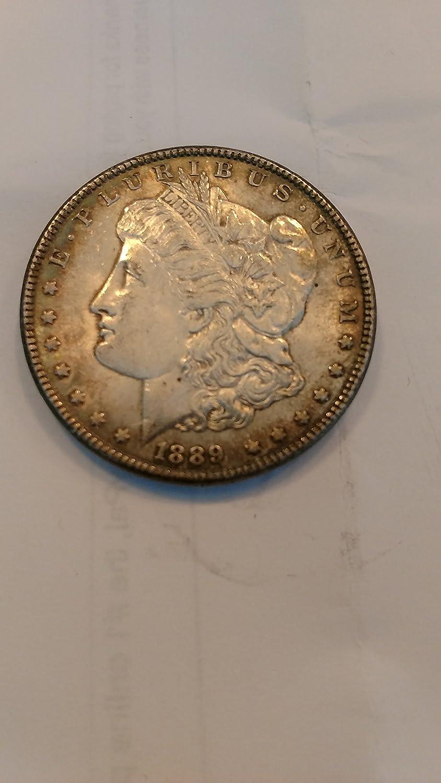 1889 No Mint Mark Morgan Dollar Collection Seller Good